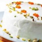 Mrkvový dort z ovesných vloček