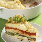 Zapečené knedlíkové lasagne
