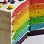 Duhový dort I