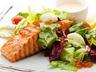 Salát s lososem tandoori