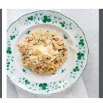 Il risotto mele e speck - Risotto s jablky a špekem