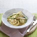 Chřestové raviolky s citronovým máslem