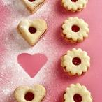 Linecké koláčky s marmeládou
