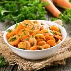 Teplý mrkvový salát