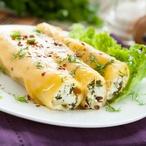 Sýrová roláda s bazalkou