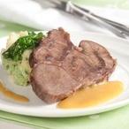 Hovězí maso s cibulovou omáčkou