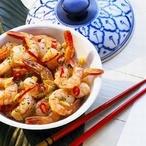 Tygří krevety s chilli