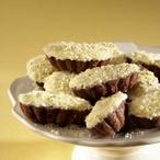 Čokoládové košíčky s banánovou marmeládou