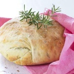 Bramborový chléb s bylinkami