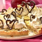 Valentýnský jablkový koláč
