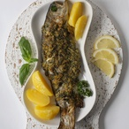 Ryba v petrželové krustě