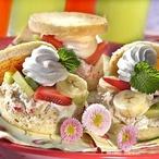 Ovocné sendviče