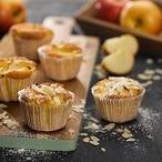 Lehké jablečné košíčky