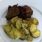 Beefsteak s cibulovou marmeládou + VIDEO