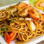 Linguiny s rybím filetem a rajčátky
