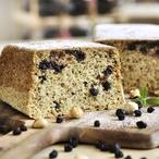 Bezlepkový čučoriedkový koláč