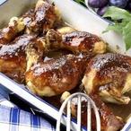 Kuře v povidlech