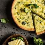Quiche s brokolicí a gorgonzolou I