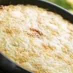 Brambory zapečené s kozím sýrem