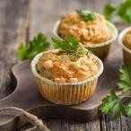 Hádek z bramborových muffinů