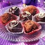 Čokoládové lanýže s vanilkou