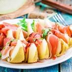 Salát s melounem a pršutem