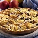 Jablečný koláč s mandličkami