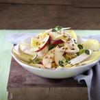 Čekankový salát s hořčičnou zálivkou