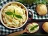 Polenta alla carbonara - Polenta s pancettou, česnekem a pecorinem