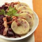 Slaninové bramborové knedlíky I