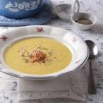 Polévka z kořenové zeleniny se šunkou