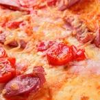 Rajčatový duhový koláč s kozím sýrem a tymiánem