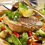 Steak z tuňáka a la Asie