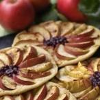 Listové koláče s jablky