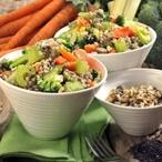 Pohankové kroupy se zeleninou
