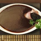 Černá povidlová polévka