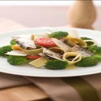 Sardinkový salát sbrokolicí