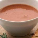 Polévka z opečených rajčat