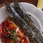 Makrela pečená se zeleninou