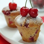 Bezlepkové muffiny s ovocem