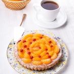 Čokoládový koláč s mandarinkami