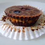 Čokoládové košíčky s arašídovým máslem