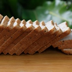 Bílý toastový chléb