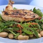 Kuře s voňavými fazolemi