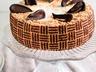 Ořechový joconde s mangovým a ricottovým krémem