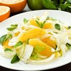 Fenyklový salát s citrusy a máto