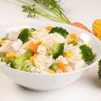 Těstoviny s dušenou zeleninou
