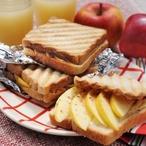 Jablečné toastíky se skořicí