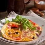Španělské omelety se šunkou