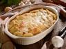 Gratinované brambory s hříbky